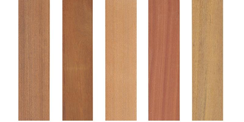ウッドデッキの木材